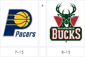 Pacers @ Bucks
