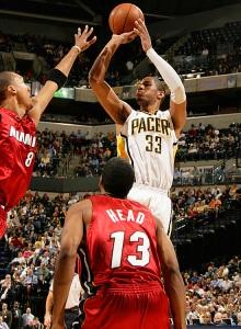 Danny Granger lidorou o Pacers com 28 pontos