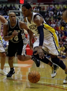 Spurs Pacers Basketball