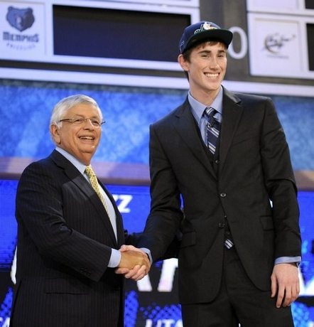 Gordon Hayward, nona escolha do Draft de 2010 (Foto de Bill Kostroun / Associated Press)