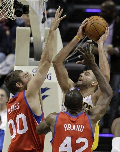 McRoberts está melhorando a cada jogo (AP Photo/Darron Cummings)